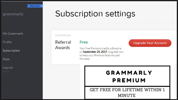 30+ Free Grammarly Premium Account [Usernames & Passwords