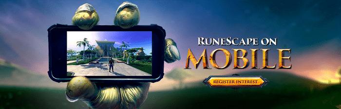 RuneScape on Mobile