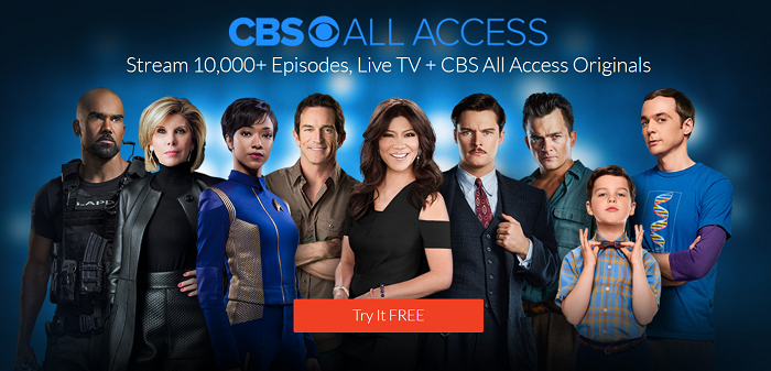 Official Site of CBS all access