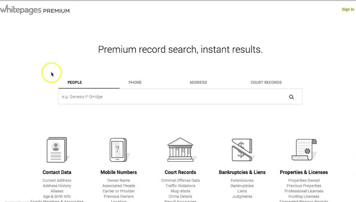 Free Whitepages Premium Accounts and Passwords (Tested 2019)