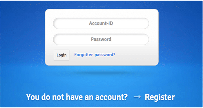 Uploaded Login IDs and Passwords