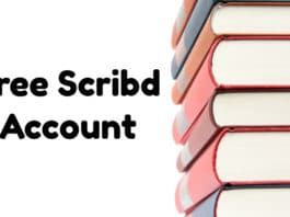 Free Scribd Account