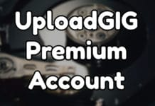 UploadGIG Premium Account