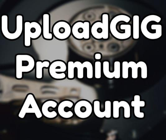UploadGIG Premium Account