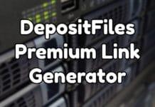 DepositFiles Premium Link Generator