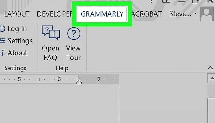 Enable Grammarly on Word