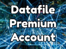 Datafile Premium Account