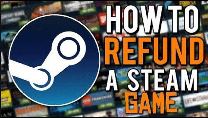Refund a game on steam