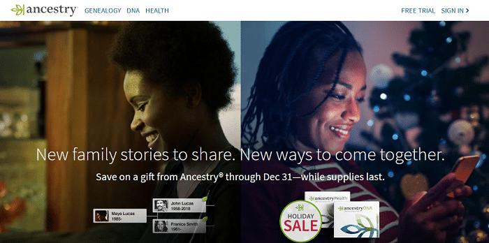 ancestry.com free account
